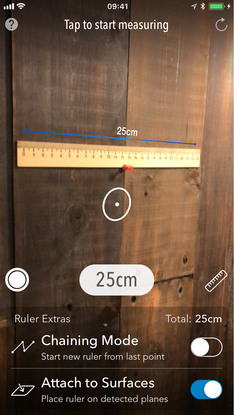 MeasureKit - AR ruler app for iOS 11